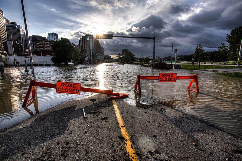 Riverfront Ave., Calgary, in 2013 -Ryan L. C. Quan Wikimedia
