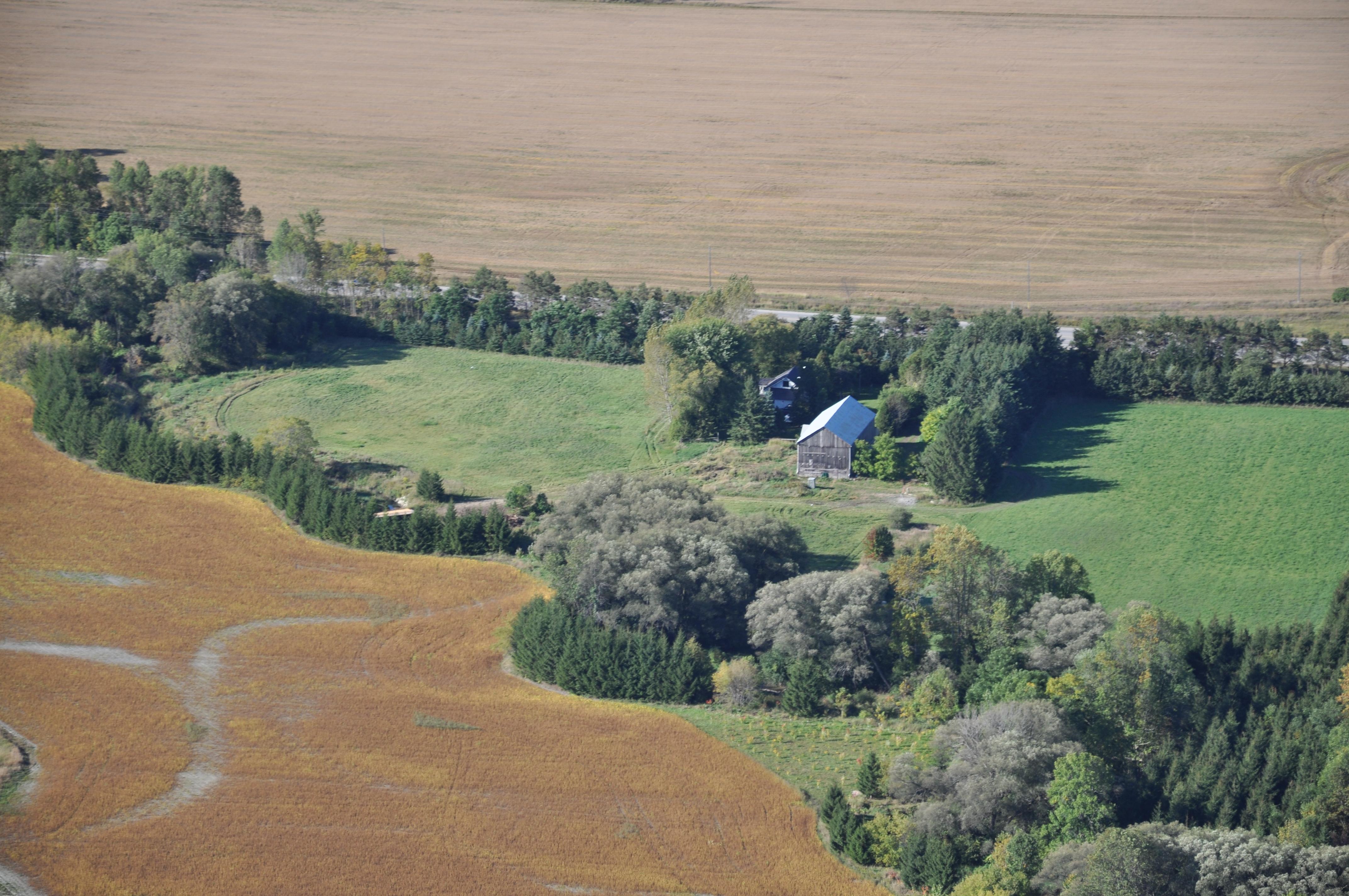 Farmland near Waverley Uplands Moraine -J.E. (Jim) Simpson photo