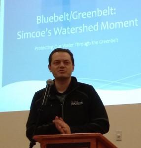 Barrie Mayor Jeff Lehman -AWARE Simcoe photo