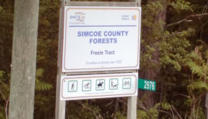 Proposed organics facility site