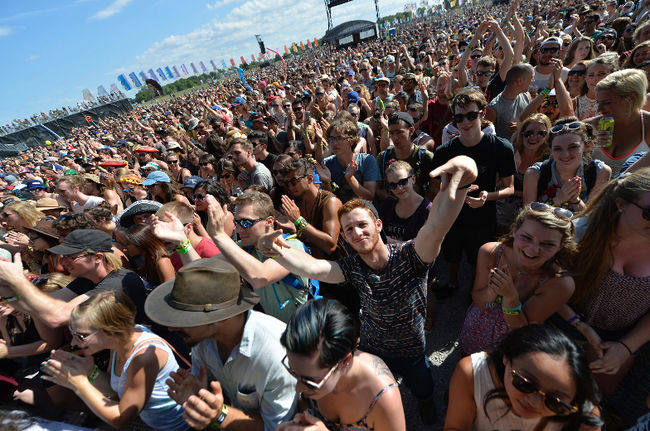 The WayHome Festival at Burl's Creek, just north of Barrie. -Packet & Times photo