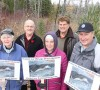 From left, Linda Feldpusch, Dave Feldpusch, Renate Koenig, Mario Nobrega, and Klaus Koenig are part of a group of residents in Wasaga east end lobbying to preserve a section of wetland from development. -Wasaga Sun photo