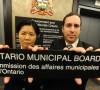 Toronto city councillors Josh Matlow, right, and Kristyn Wong-Tam, pictured in May 2012, tried to remove Toronto from the jurisdiction of the Ontario Municipal Board -Toronto Star photo