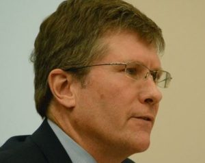 Deputy Mayor Brian Saunderson