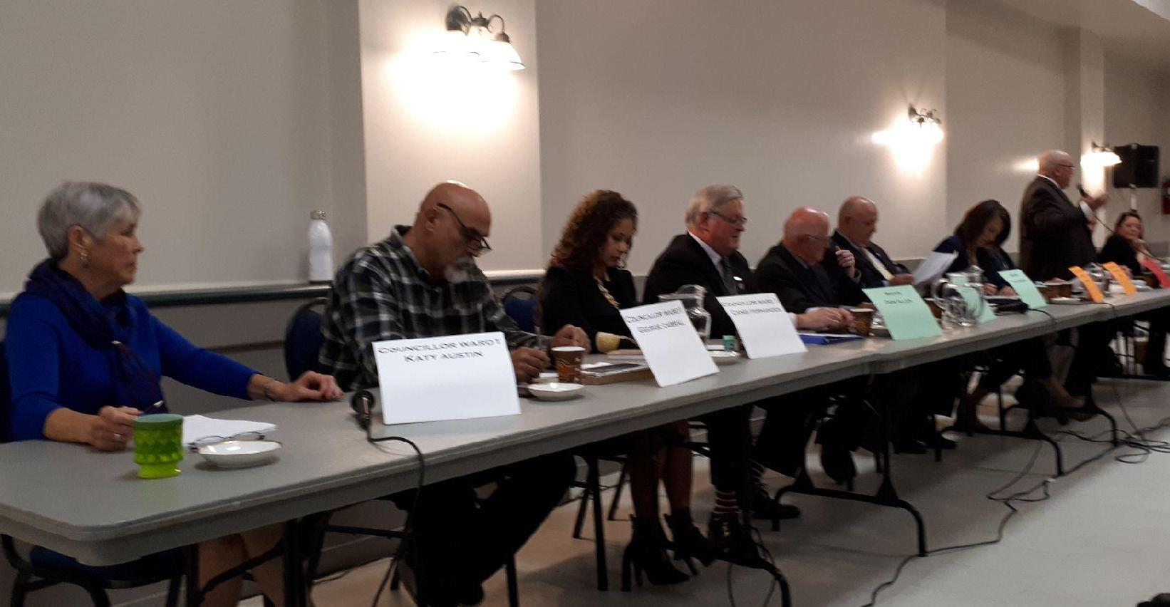 Springwater all-candidates' meeting
