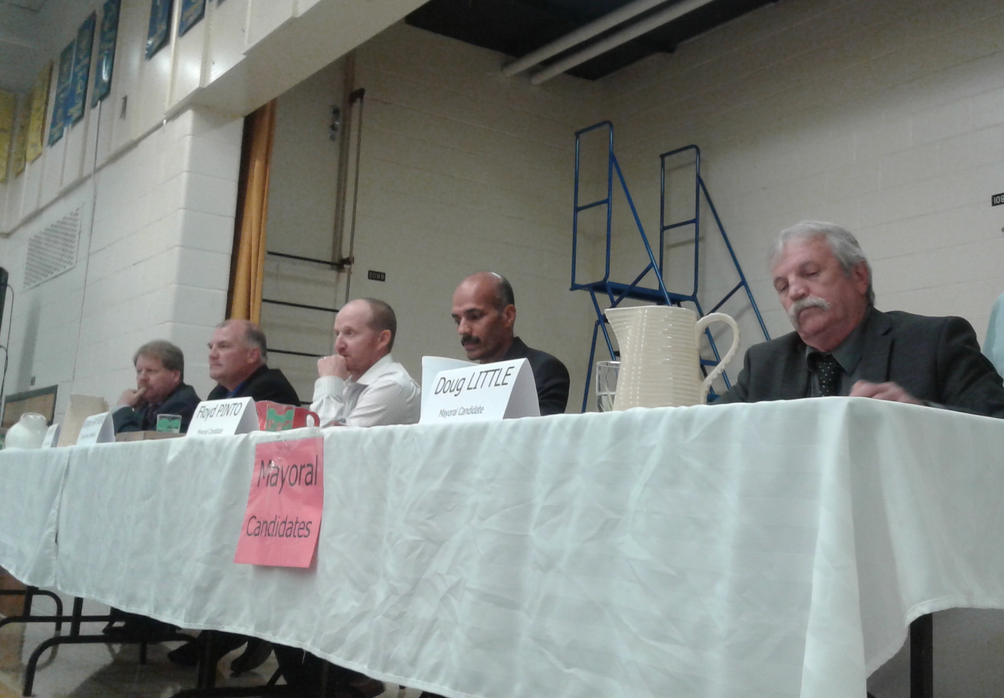 Adjala-Tosorontio all-candidates' meeting -AWARE Simcoe photo