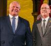 Premier Doug Ford and Municipal Affairs Minister Steve Clark