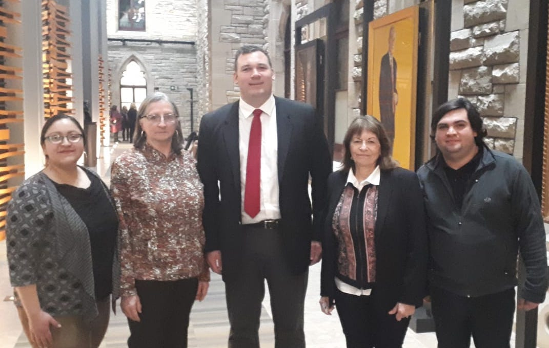MP Alex Nuttall with advocates for Edwin Espinal, jailed in Honduras