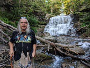 John Bacher at DeCew Falls