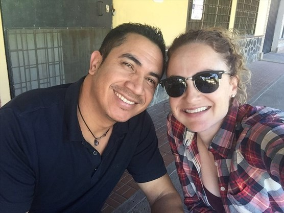 Edwin Espinal and Karen Spring