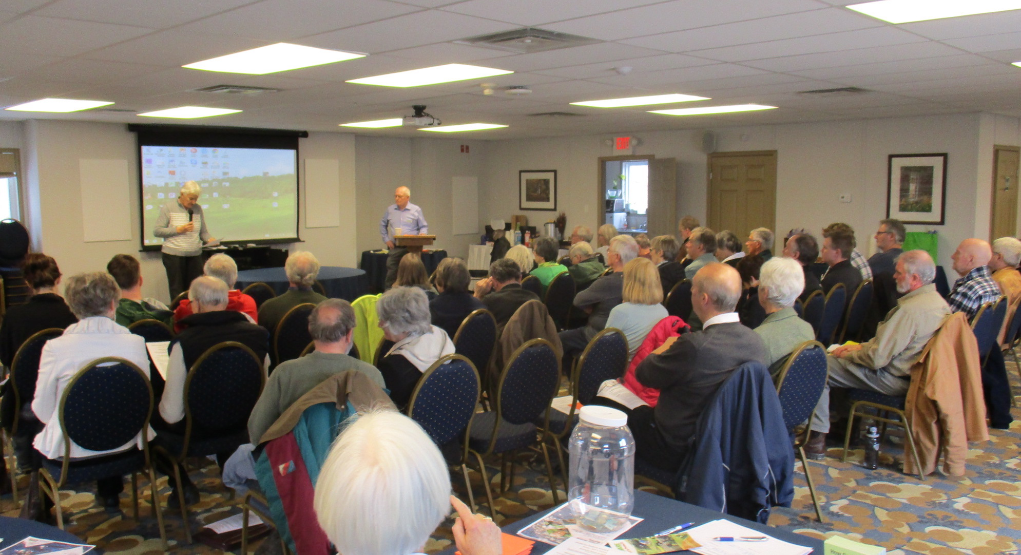 AWARE Oro-Medonte's AGM in Carriage Hills.