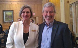 Mariane MccLeod and Keith White