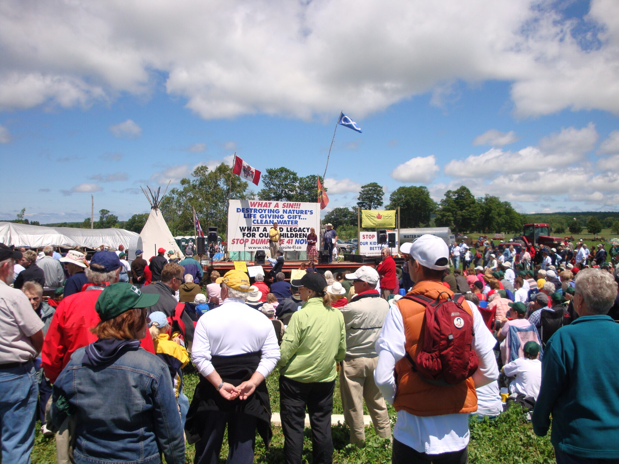 Rally at Site 41 - summer 2009